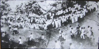 People gathered for Lohia's speech on 18 June 1946 in Madgao