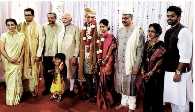 Abhijat parrikar wedding